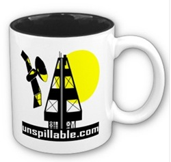 unspillable bp oil mug 2
