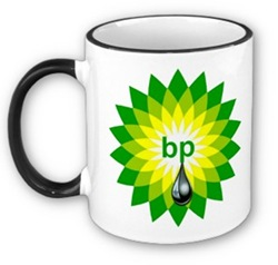 unspillable bp oil mug